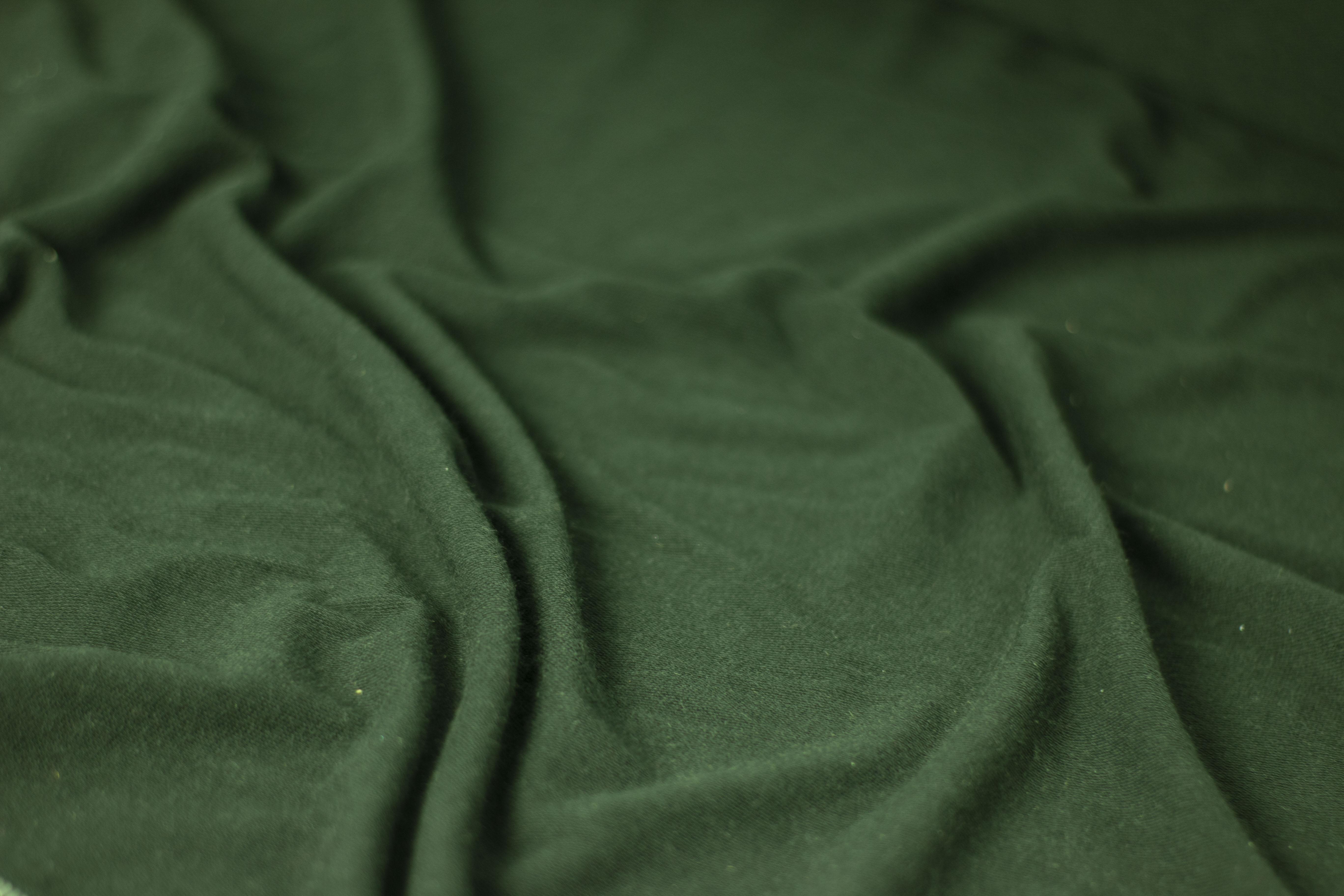 Tecido moletinho verde