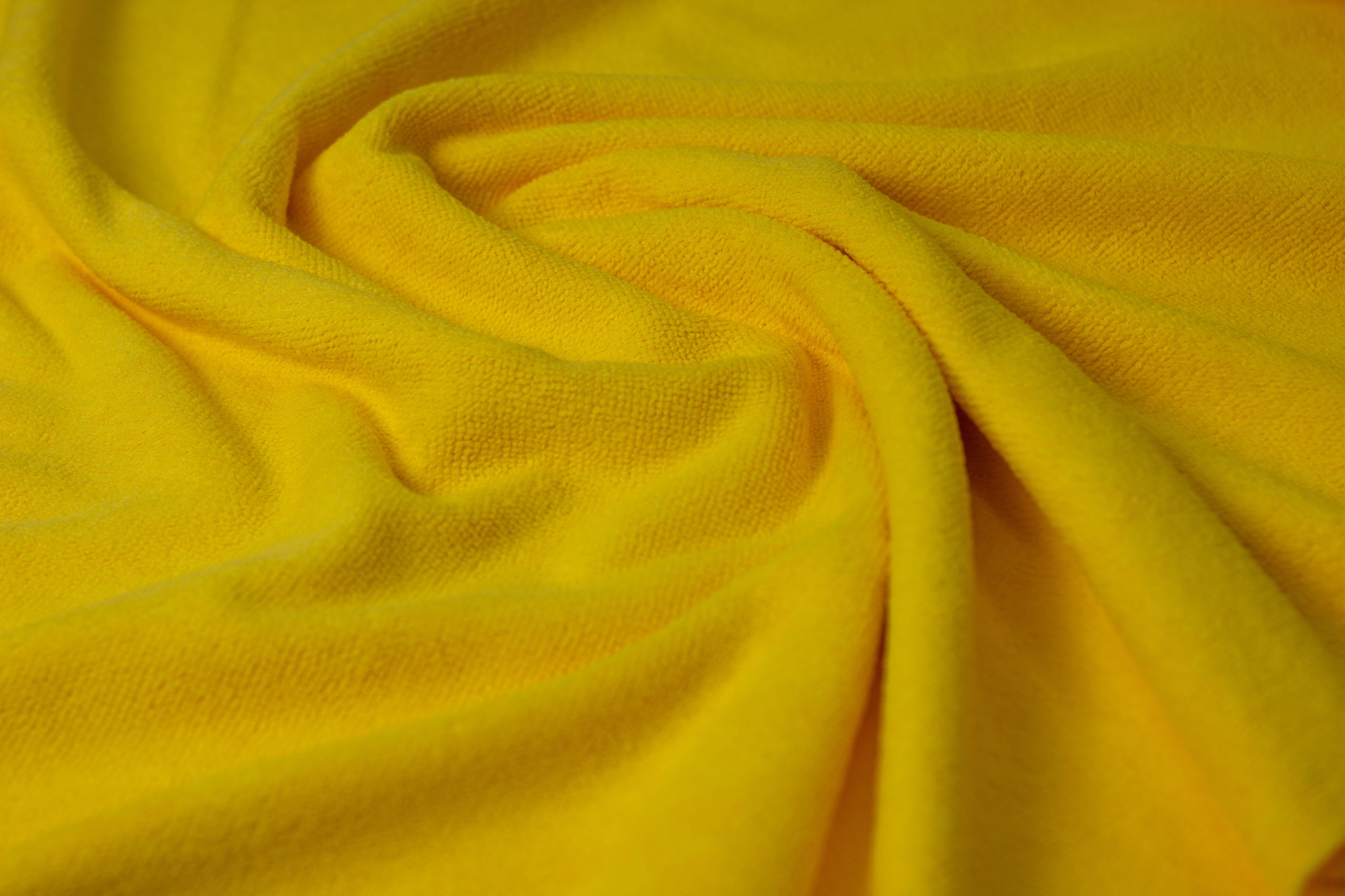 Tecido microfibra multiuso amarelo