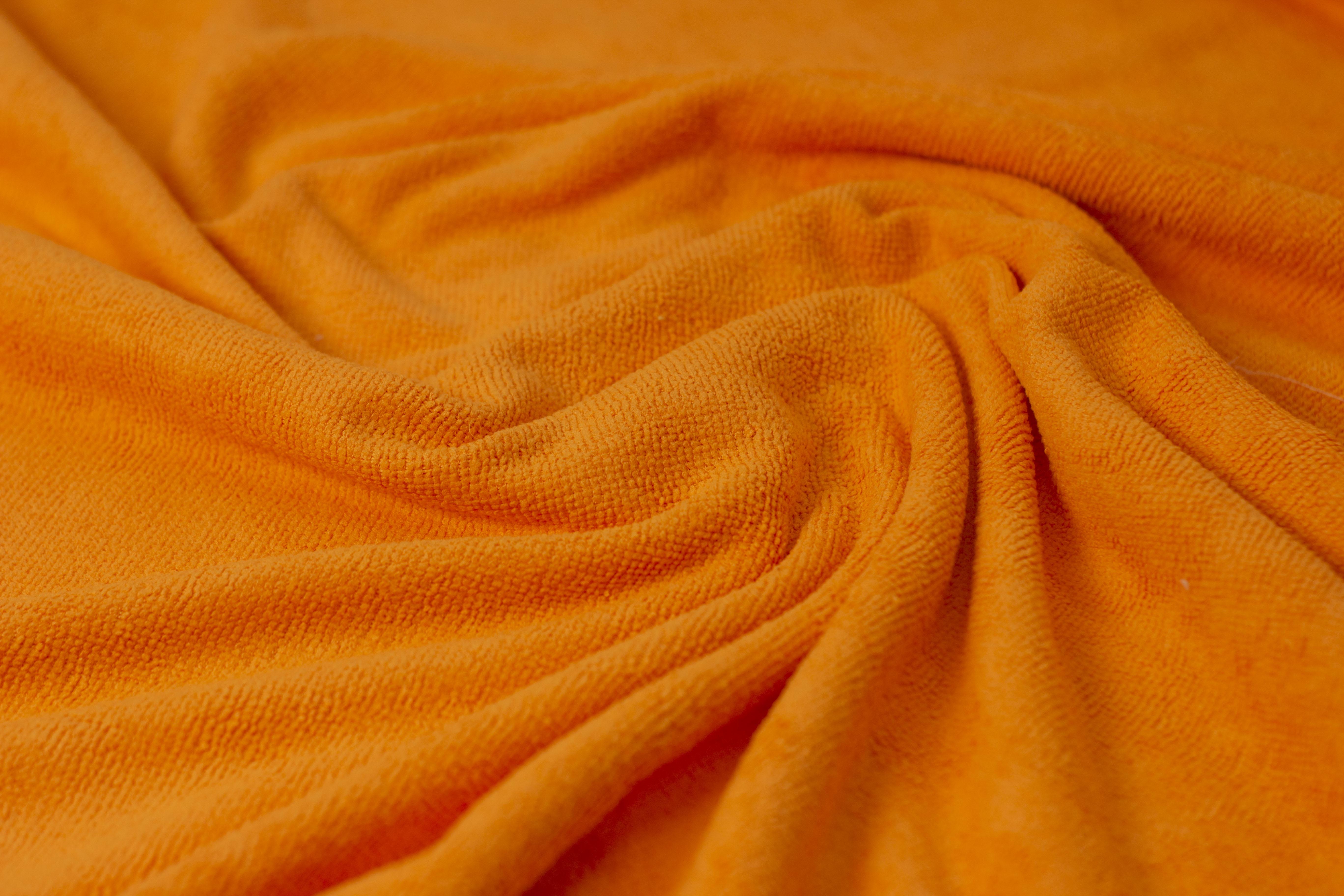 Tecido microfibra multiuso laranja