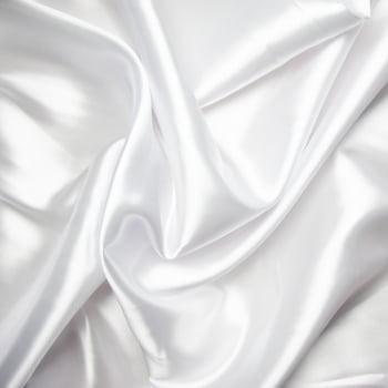tecido cetim Branco