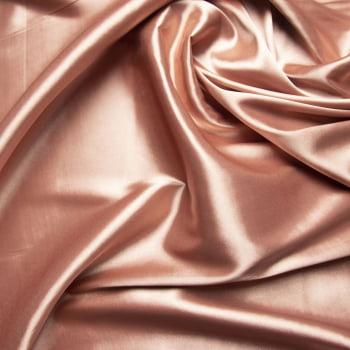 tecido cetim liso com elastano - rosé