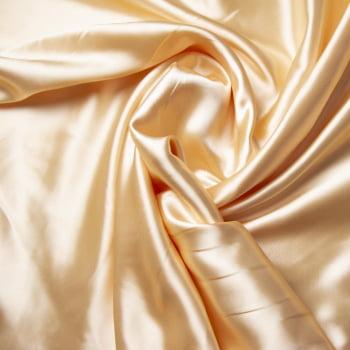 tecido cetim Nude Perolado