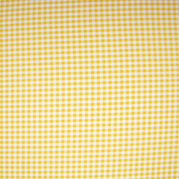 Tecido oxford estampado Xadrez Pequeno Amarelo