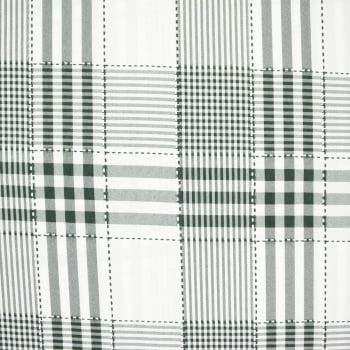Tecido oxford estampado Xadrez Verde Escuro