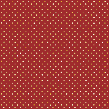 Tecido Tricoline estampado poá glitter vermelho