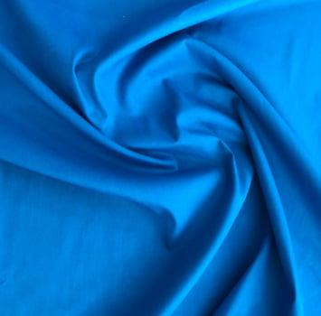 Tecido tricoline liso azul