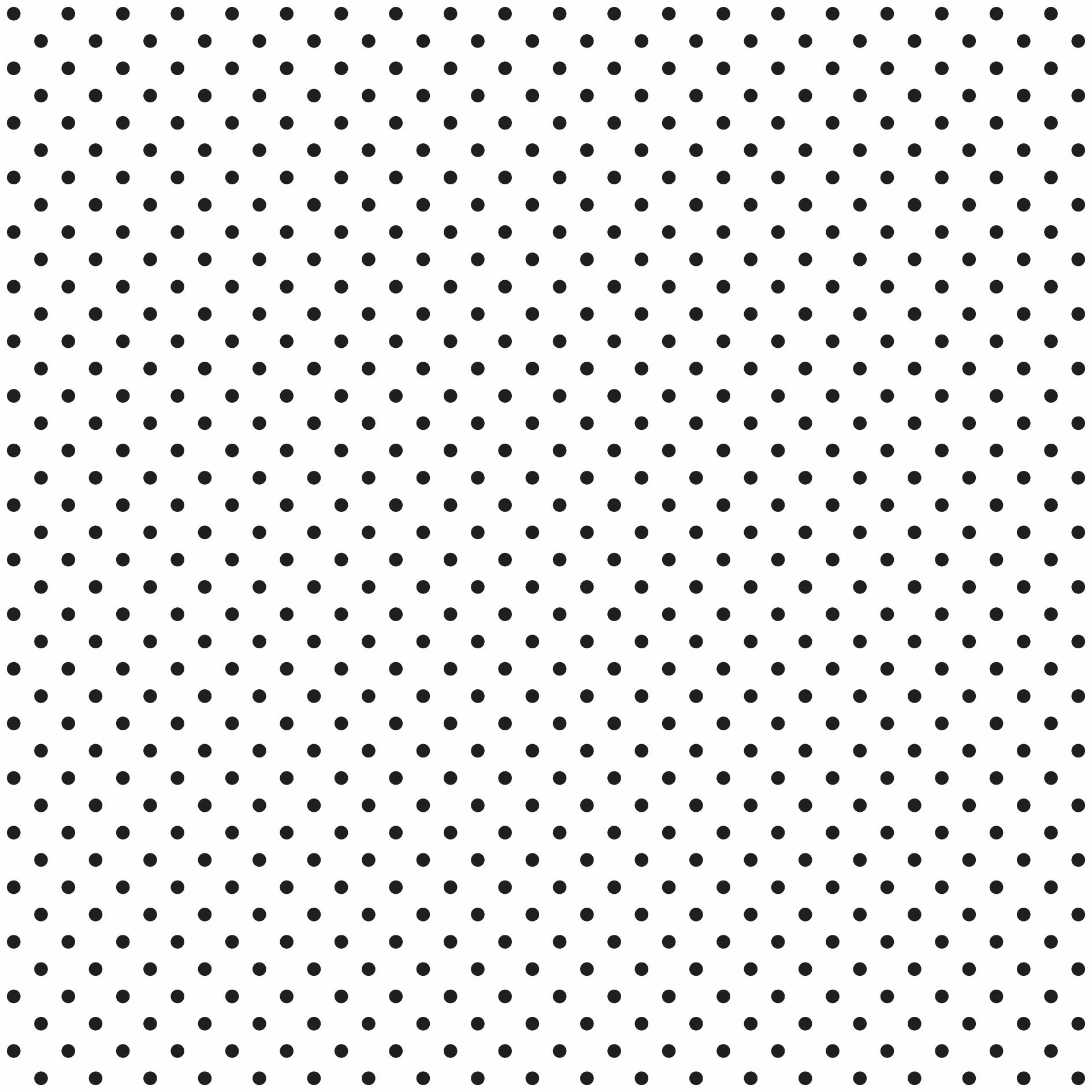 Tecido Tricoline estampado Poá preto fundo branco